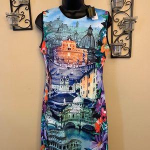 Large size Just Love major landmarks dress